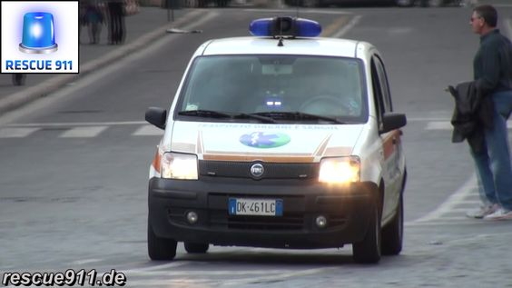 [Italy] Emergency vehicles in Rome