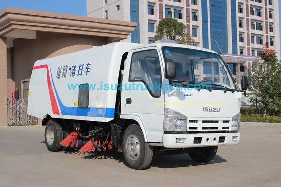 Unique Brand New ISUZU NKR 3cbm-5cbm Isuzu Road Sweeping Vehicle Online,Vacuum Wet Type Road Sweepers