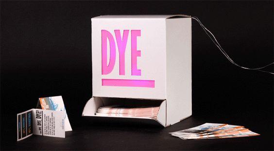 To dye for #6   BURO MET  In store LED dispenser