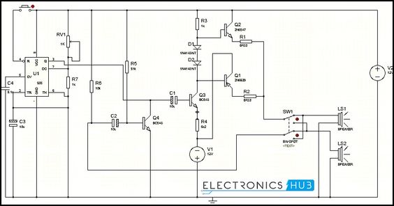 circuit diagram and intercom on pinterest