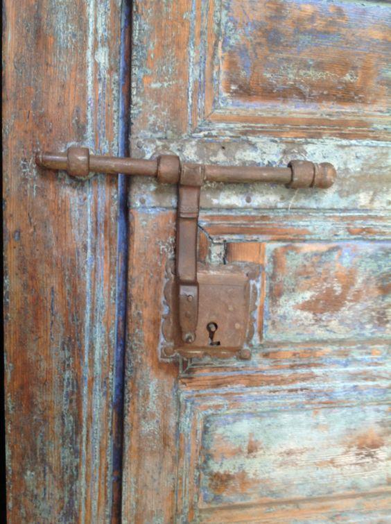 Antique door bolts from Dar Malak | Antique Moroccan doors in riads |  Pinterest | Antique doors and Doors - Antique Door Bolts From Dar Malak Antique Moroccan Doors In