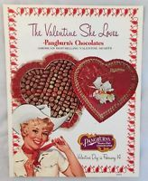1971 Pangburn's Candy Chocolate Co Catalog Fort Worth Texas Valentine Day Pinup