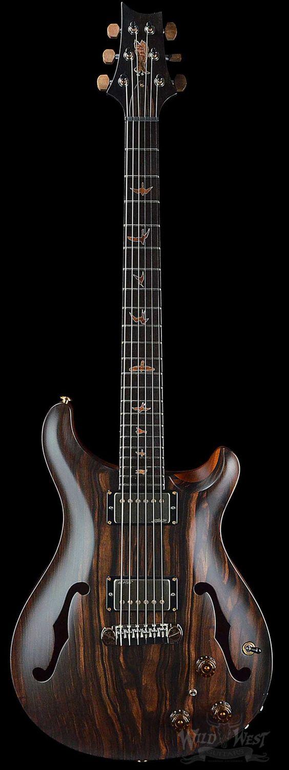 PRS Paul Reed Smith Private Stock #5677 Hollowbody I Macassar Ebony w/ Piezo - Wild West Guitars
