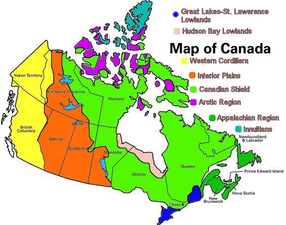 Appalachian Region Of Canada Map Google Search 7th Grade: Map Of Canada Regions At Infoasik.co