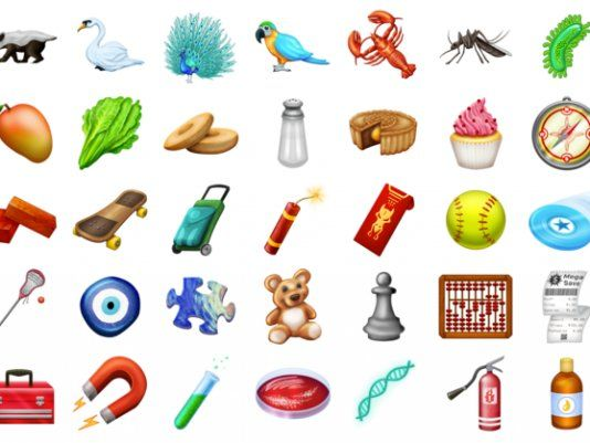 Here S Every Single New Emoji That Just Became Available For
