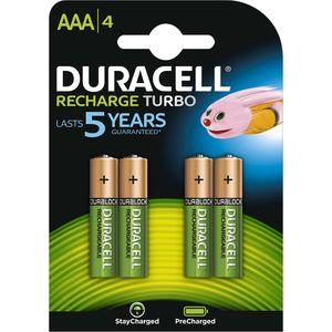 Acumulatori Duracell 81384368 Aaa 800 Mah 4 Bucati Duracell Rechargeable Batteries Nimh