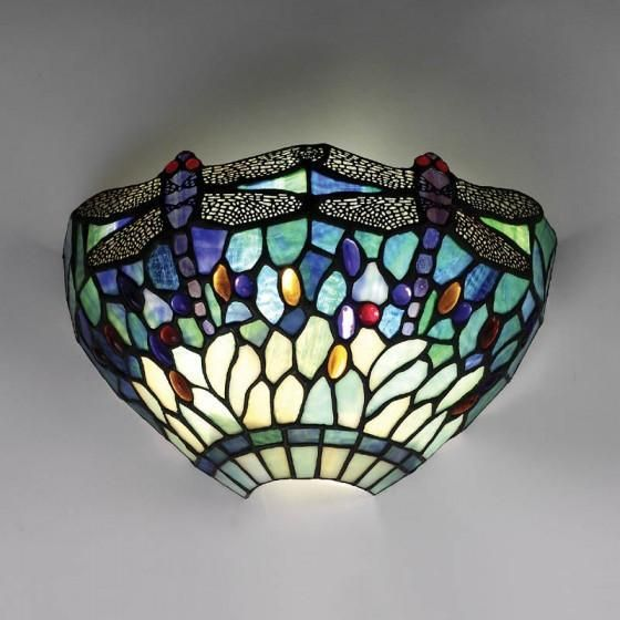 Tiffany Wall Lights Visible Glass Works Of Art With Cozy Light Tiffany Ceiling Lights Blue Dragonfly Ceiling Lights