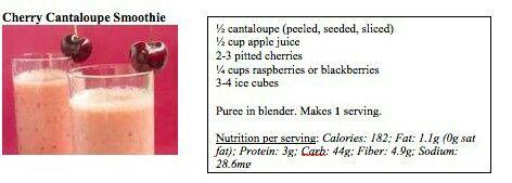 Cherry Cantaloupe