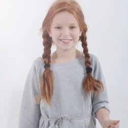rose desbois. robe Ada gris chiné | mode enfant (-40%)