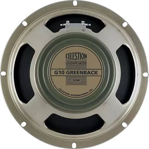 Celestion T5646 G10 Greenback 10 30 Watt 8 Ohm Replacement Speaker Reverb Speaker Electric Guitar And Amp Musical Instrument Amplifier Accessories