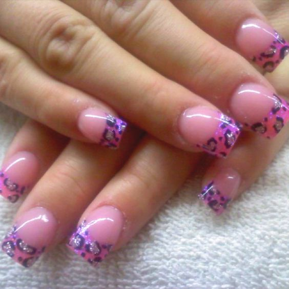 Acrylics Nails by Celeste Young