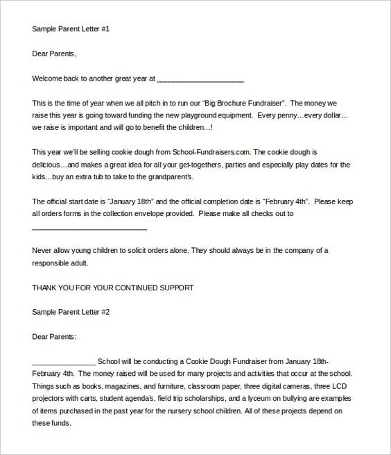 fundraising letter format donation templates for free examples and - donation request letter