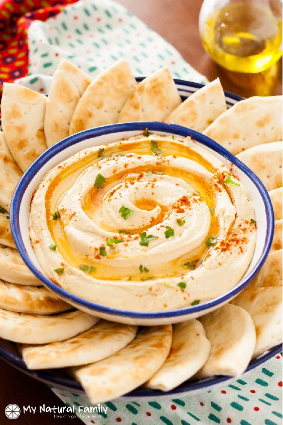 Clean Eating Classic Smooth Hummus Recipe - learn the trick to making your hummus smooth.