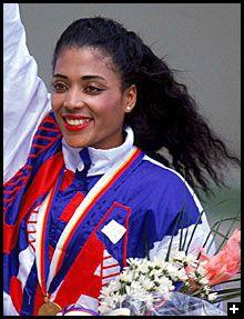 Florence Griffith Joyner, 1959-1998 Flo Jo Fastest woman in history
