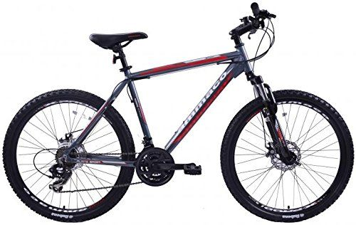 Ammaco Alpine Sport 21 Speed Mens Alloy Mountain Bike With Disc