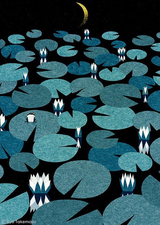 Ryo Takemasa 武政諒 (b.1981) — Water Lily, 2013   (600x840):