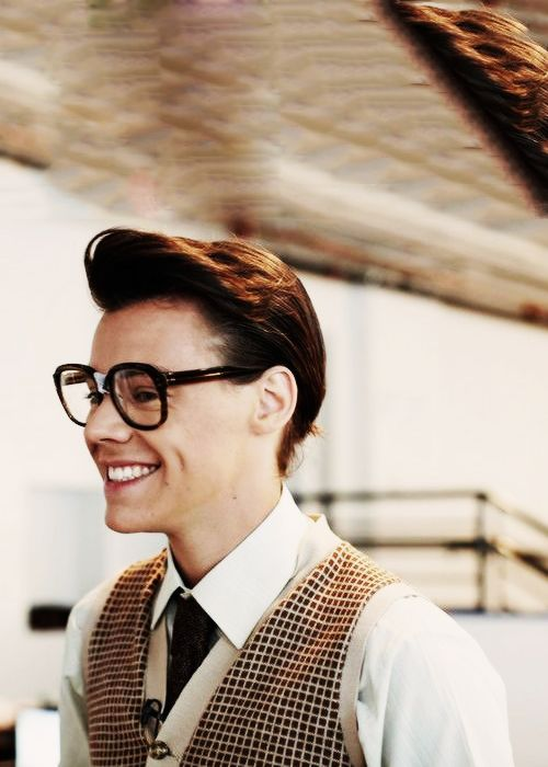 I might could possibly have a thing for Harry Styles if he looked like this all the time