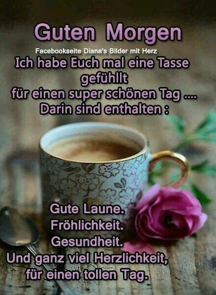 Pin Von Petra Meurer Auf Smiley Guten Morgen Romantisch