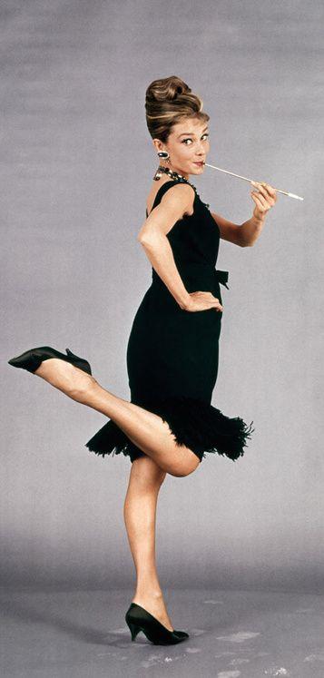 Le look de la semaine : Audrey Hepburn dans « Diamants sur canapé »: