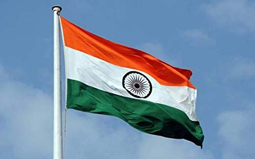 Ashdim Indian National Outdoor Flag Standard Size In 100 Knitted Polyester In 2020 India Flag Indian Flag Images National Flag India