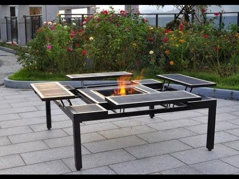 patio furniture with fire pit menards