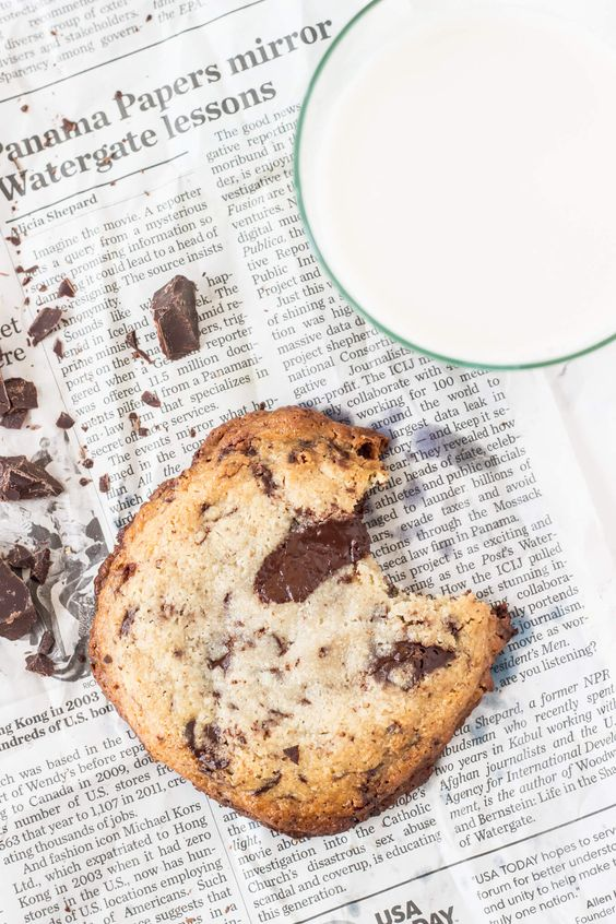 Single Serve Chocolate Chip Cookie - Vegan AND Paleo friendly!! Only 8 grams of sugar in this decadent cookie!:
