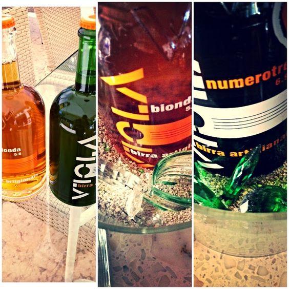 "Oggi vi presentiamo la nuova entrata nella lista bevande: la #birra ""#Viola"" artigianale."