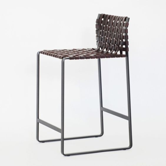 Woven Counter Stool Mark Albrecht Suite Ny Accent