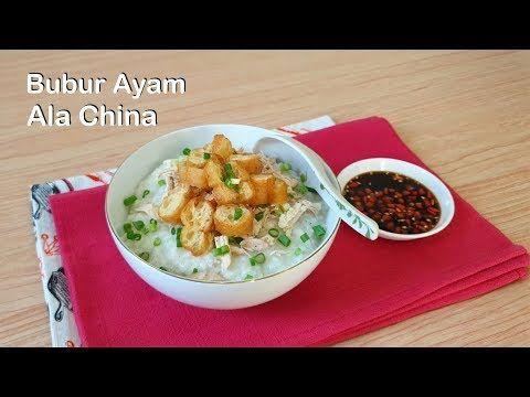 Resep Bubur Ayam China Re Cook Bubur Ayam Enak Dan Mudah Youtube Makanan Resep Makanan Resep