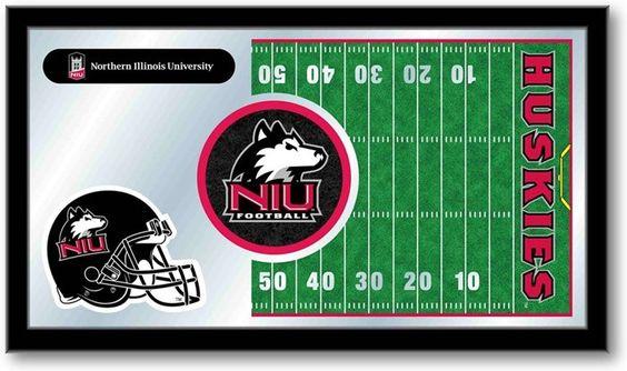 Northern Illinois Huskies Football Team Sports Mirror at SportsFansPlus.com. Visit website for details!
