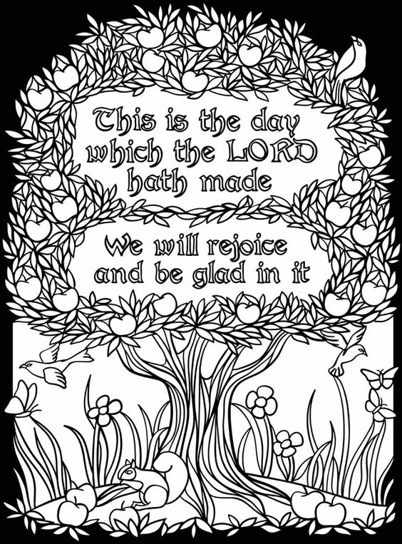 rejoice coloring pages - photo#25