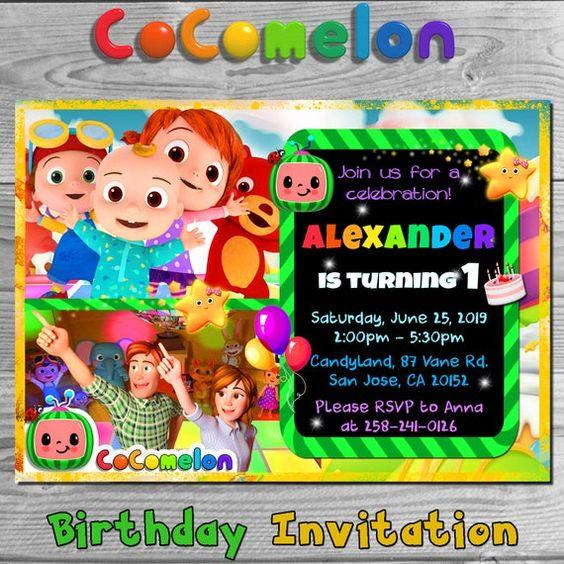 cocomelon birthday theme google