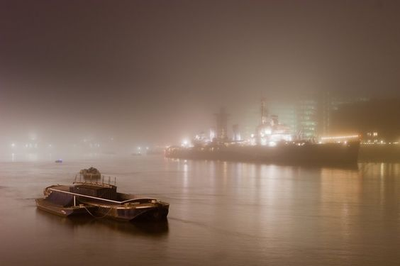 Fog in London. Excellent.