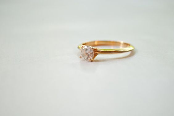 Diamond in the Riff Ring Size 9 by ladyivyvintage on Etsy, $12.00