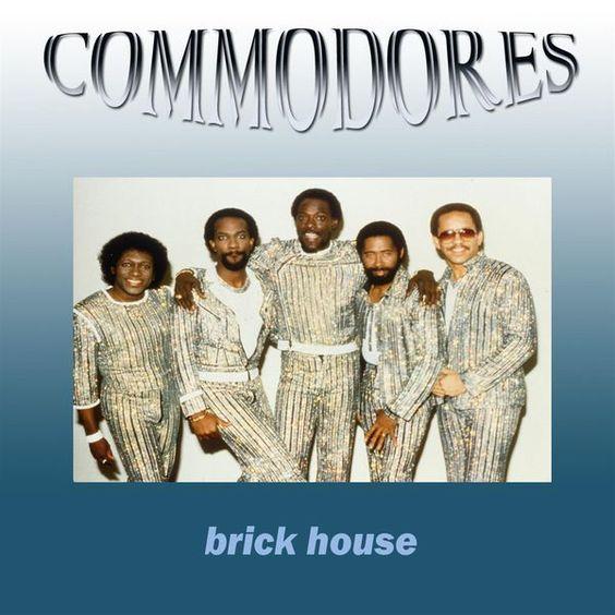 Commodores – Brick House (single cover art)