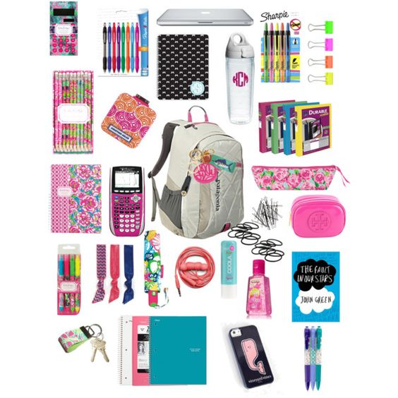 inside my book bag! sorry I like making these!