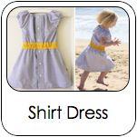 Kinderkleid aus Herrenhemd