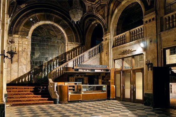 Teatro em Detroit, EUA