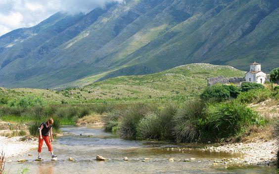 Orikum – on the way to Karaburuni mountains.