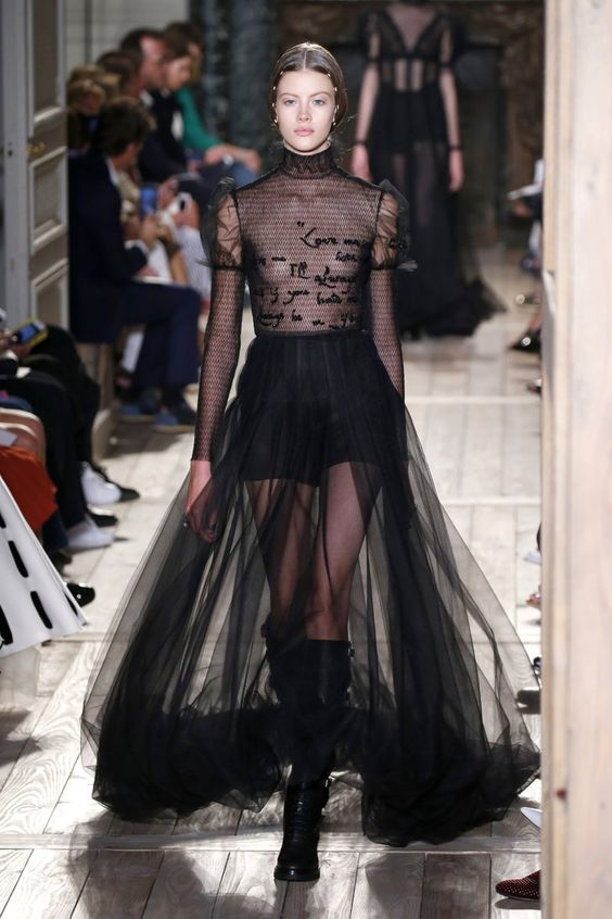Pin for Later: Prepare to Lose It Over Couture Fashion Week's Most Extravagant Looks Valentino