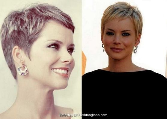 Pixie Haircut For Round Face Short Hair Styles For Round Faces Pixie Haircut Short Hair Round Face Plus Size