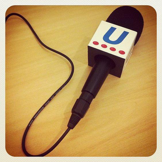 Microphone para as aulas de Práticas de WebJornalismo : D @ Uninove Vergueiro