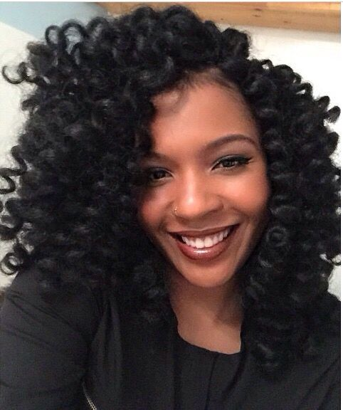 Incredible Crochet Braids Crochet And Black Braided Hairstyles On Pinterest Short Hairstyles For Black Women Fulllsitofus