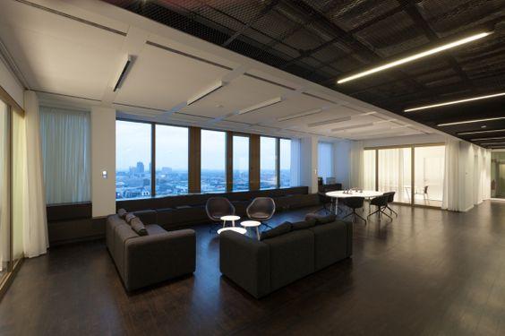 Co-Working Space in der Vorstandsetage  Umbau im Berliner Axel-Springer-Hochhaus