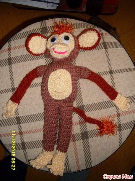 И у нас обезьяна появилась