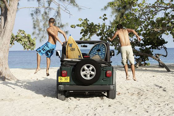 You always carry a beach towel and bathing suit in your car, just in case. | 14 Things Every Self-Respecting Floridian Can Tell You