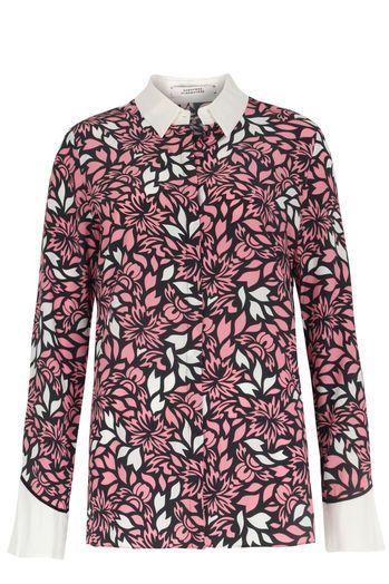 DOROTHEE SCHUMACHER Seidenbluse Wild Love mit floralem Print Pink bei myClassico…