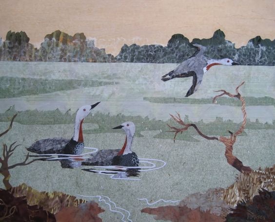 Red Throated Loons