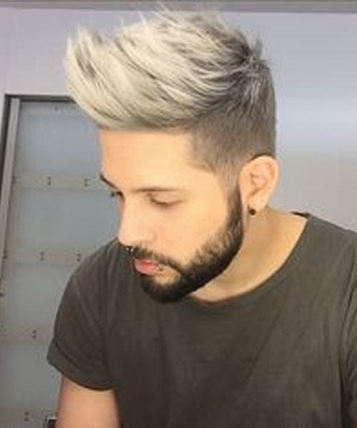 Coolest Short Spikey Blonde Haircut Styles 2019 For Men Mens