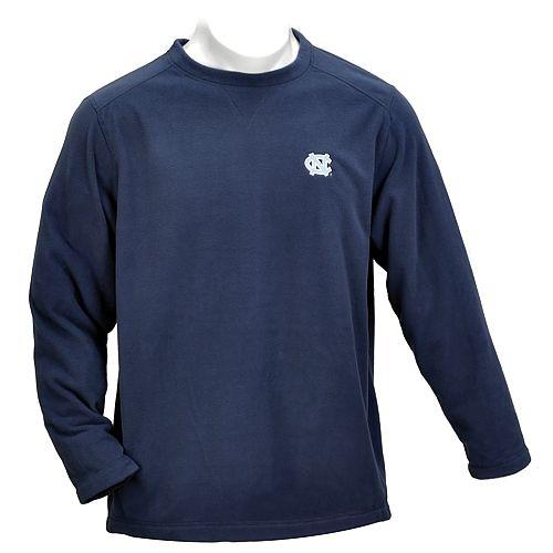 Johnny T-shirt - North Carolina Tar Heels - SALE ITEMS - Vantek Microfiber Crew (Navy) by Vantage